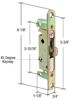 Wide Mortise Lock - 1