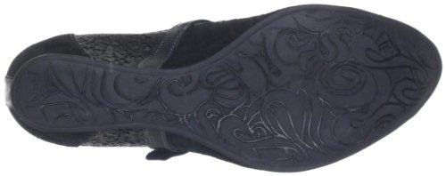 Think Nolita 80203 - Zapatos de tacón de cuero para mujer Negro (Schwarz (sz/kombi 09))