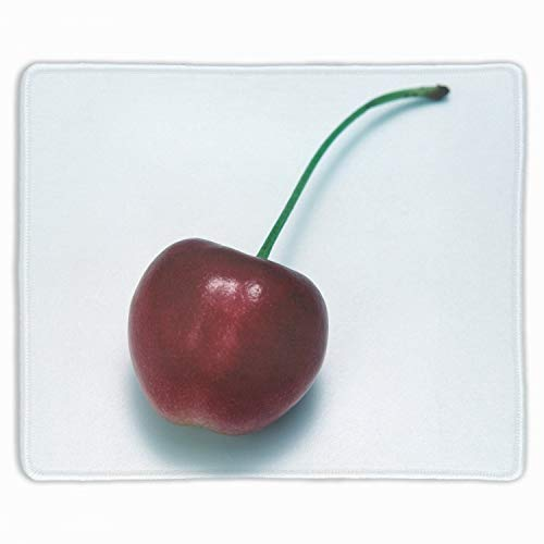 Gaming Mouse Pad Custom,Cherry Food Berry Twig Tasty,Personalized Design Non-Slip Rubber ()