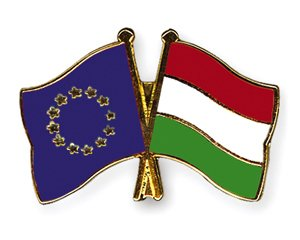 Yantec Freundschaftspin Europa Ungarn Pin Anstecknadel Doppelflaggenpin