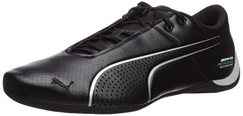 PUMA Men's Mercedes Future Cat Ultra Sneaker, BlackSilver, 11.5 M US (Puma Future Casual Cat)