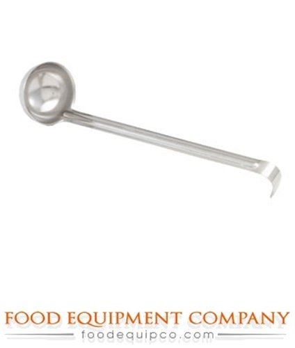 Economy One-Piece Ladles, 18-0 Stainless Steel, Mirror Finish, Capacity 1/2 Ounce - 24 Per ()
