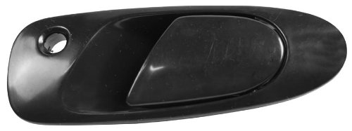 OE Replacement Honda Civic Front Driver Side Door Handle Outer (Partslink Number HO1310101)