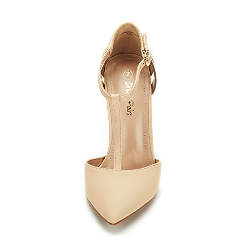 NUDE Wedding High Toe DREAM Fashion Dress Heel Oppointed Pointed PAIRS NUBUCK Pumps Women's Shoes Mary AOqwOgHR
