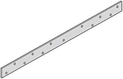【50枚】 カネシン 帯金物 S-50 Cマーク 枠組壁工法用 [壁と床枠組の緊結、2階に両面開口を設けたときの隅柱等] アミ 【代不】