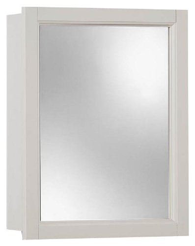 amazon com jensen 755459 sheridan framed medicine cabinet classic rh amazon com white wood medicine cabinet recessed white wood medicine cabinet with mirror