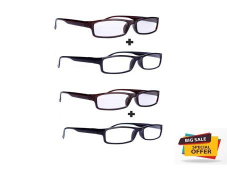 d96ad4a87769 Aramoda Power Reading Glasses for Men and Women +1.0 +1.25 +1.50 +1.75 +2.0  +2.25 +2.50 +2.75 +3.0 (+1.0)