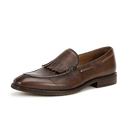 MXNET Zapatos Hechos a Mano Zapatos Casuales de Estilo clásico Borla de la Vendimia Zapatos de
