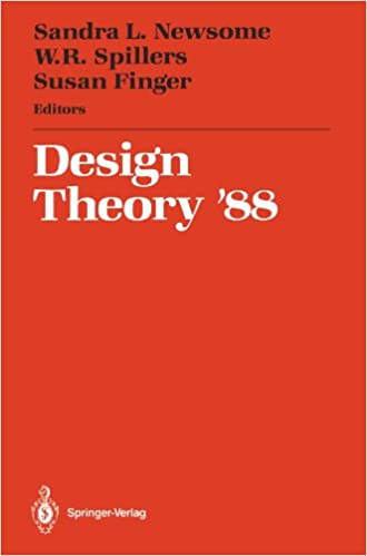 Ebook format de texte téléchargement gratuitDesign Theory '88: Proceedings of the 1988 NSF Grantee Workshop on Design Theory and Methodology 146128189X PDF MOBI