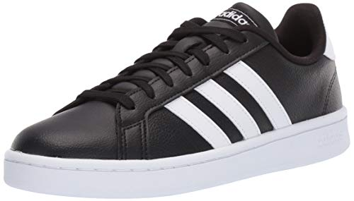 adidas Women's Grand Court, White/Black, 5.5 M US