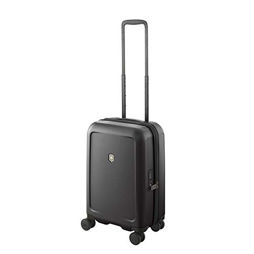 (Victorinox Connex Frequent Flyer Carry-on Hardside Case, Black)