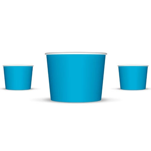 ice cream bowls blue - 4