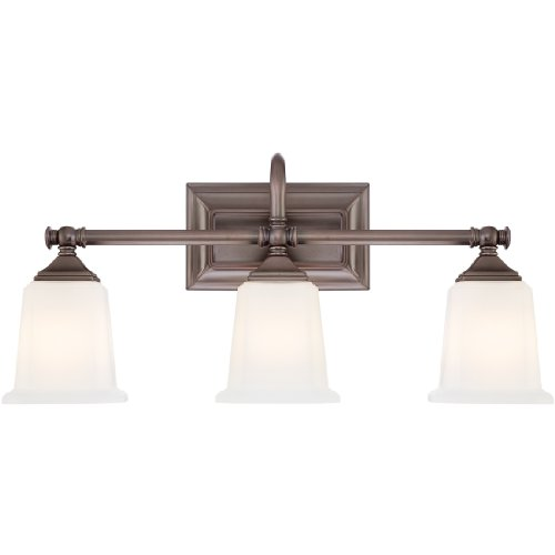 Quoizel  Downtown Pendant in Polished Chrome - Quoizel Bronze Bathroom Lights