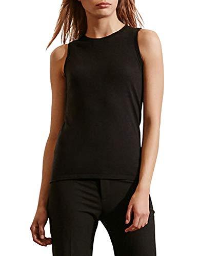 Lauren Ralph Lauren Petite Sleeveless Sweater (Black, ()