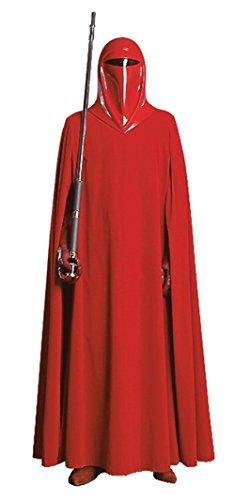 Rubies Mens Supreme Edition Star Wars Imperial Guard Red Fancy Costume, One Size