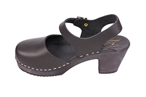 in Stockholm From Mary Leather Lotta Clogs Black Swedish Jane Style Highwood C1wwqRUxT