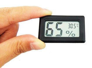 Gadget Hero's Hygrometer Temperature Thermometer Sensor Guage for Hatcheries Incubators