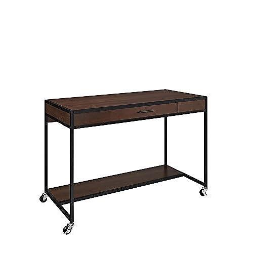Superieur Altra Mason Ridge Mobile Desk With Metal Frame, Cherry/Black