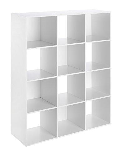 (Whitmor Cube Organizer, White)