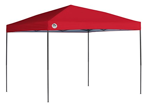 Quik Shade 10 x 10 ft. Straight Leg Canopy, Red (Quik Shade 10x10 Expedition 100 Straight Leg Canopy)