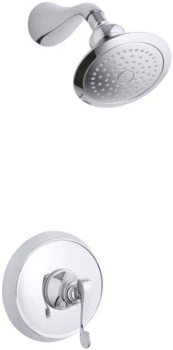 - KOHLER K-T16116-4-CP Revival Rite-Temp Pressure-Balancing Shower Faucet Trim, Polished Chrome
