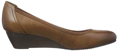 Tamaris 22320 - Zapatos, Mujer Marrón (NUT ANTIC 444)