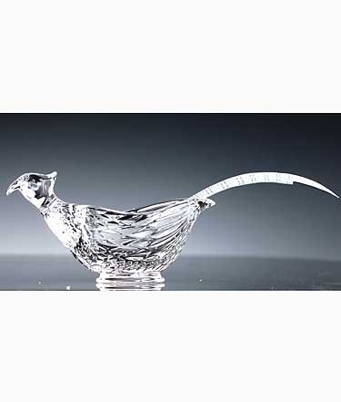 Pheasant Gravy Boat (Glass Gravy Boat With Ladle)