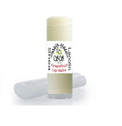Natural Beeswax Lip Balm With Lanolin & Shea | Chap Lip Therapy | Oval Tubes