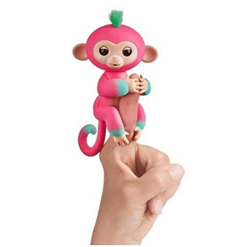 - WowWee Fingerlings 2Tone Monkey Melon Interactive Baby Pet Toy
