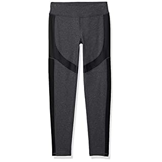 Marc New York Performance Women's Long Active Legging W/Shine Accents, Sweats Heather, X-Large