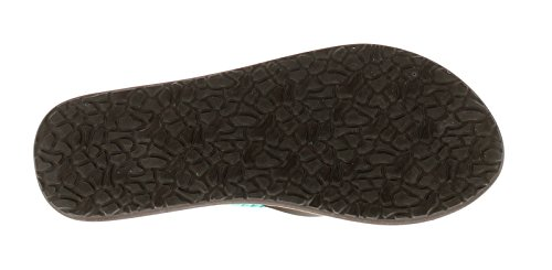 NEU Damen / Damen dunkelbraun Sinner Bagu Zehentrenner Sandalen - dunkelbraun - UK Größen 3-7