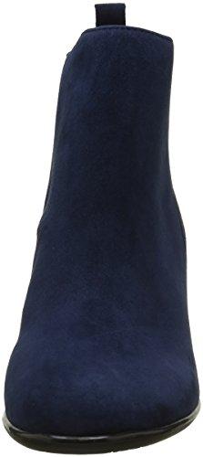 Jb Martin Charmel, Zapatillas de Estar por Casa para Mujer Bleu (Chevre Velours Nuit)