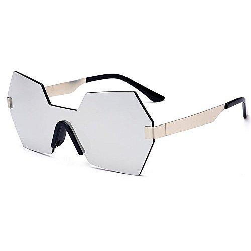 Pieza la Forma Que de de UV Irregular Gu Lente Sola Aire Protección conducen C6 Mujeres de al para de de viaja Gafas Color una Que de Peggy C2 Color Sol Personalidad Libre XZOq8q