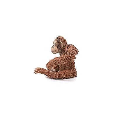 Schleich Wild Life Orangutan Female Educational Figurine for Kids Ages 3-8: Schleich: Toys & Games