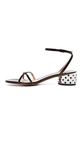 Strap Women's Heeled Marc Sybil Jacobs Sandal Black Ankle q7TqOISzw