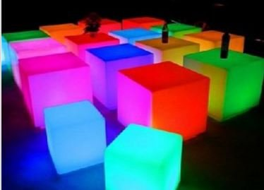 Color Changing LED Mood Cube 3-Pack