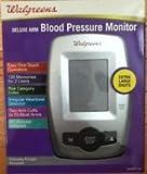 Walgreens Deluxe Arm Blood Pressure Monitor WGNBPA-540B