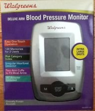 Walgreens Deluxe Arm Blood Pressure Monitor WGNBPA-540B