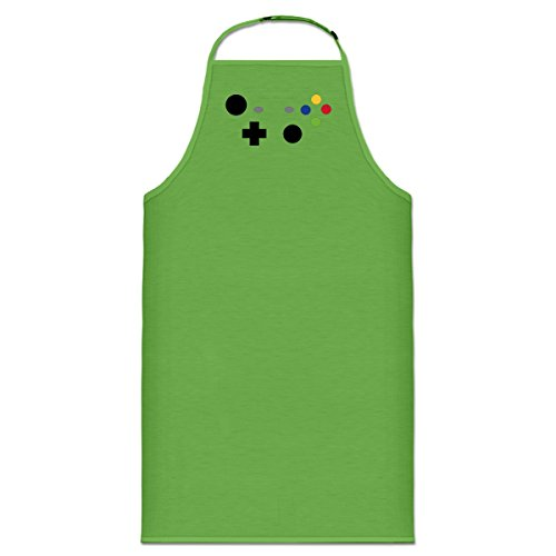 Price comparison product image Shirtcity XBOX Controller Video Game Cooking Apron One Size Green