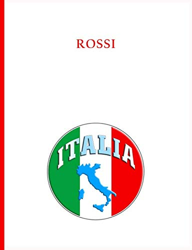 - Rossi Family Notebook