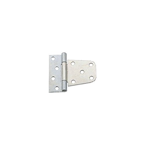 GATE HINGES 3-1/2IN ZN PLT Pack of 5