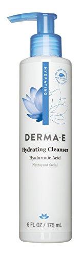(DERMA E Hyaluronic Hydrating Cleanser 6oz)