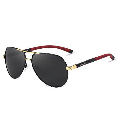 9ce8a05eae KINGSEVEN Brand Aviator Polarized Sunglasses Fashion Design For Men - Buy  Online in Oman.