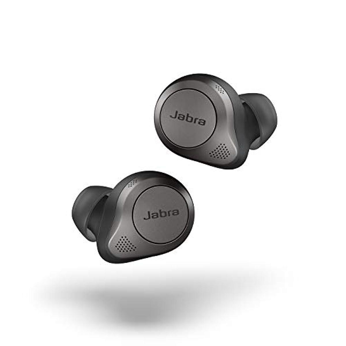[해외] Jabra 무선 이어폰 Elite 85t 티타늄 블랙