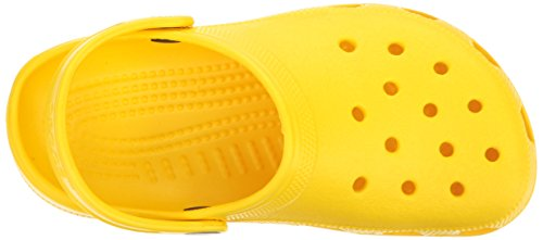 Crocs Classic Clog Kids Roomy fit Zuecos Unisex niños, Rojo (Pepper 6En), 27/28 EU 9