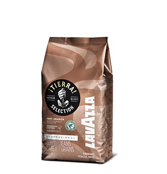 Lavazza Tierra! Intenso - Whole Bean Espresso Coffee, 2.2-Pound Bag - Pack of 2