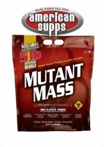 Mutant Mass - Muscle Mass Gainer Triple Chocolate 5 lbs by PVL