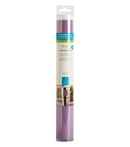 Cricut Premium Vinyl - Permanent, 12 x 48 Adhesive Decal Roll - Light Purple