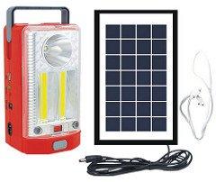 Sun Power Solar Home Lighting System with Emergency Light