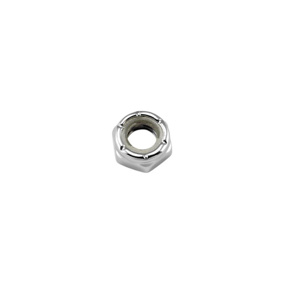 Gardner Westcott Thin Nylon INsert Jam Lock Nuts   Fine Thread 3/8in